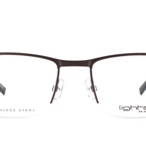 MOREL-Eyeglasses-30042 grey-men-eyeglasses-metal-rectangle