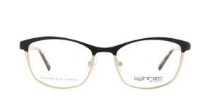 MOREL-Eyeglasses-30044 black-women-eyeglasses-metal-rectangle