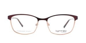 MOREL-Eyeglasses-30047 purple-women-eyeglasses-metal-rectangle