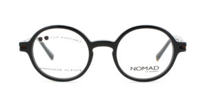 MOREL-Eyeglasses-40026 black-women-eyeglasses-acetate-round