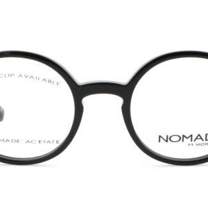 MOREL-Eyeglasses-40026 black-women-eyeglasses-acetate-round