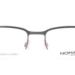 MOREL-Eyeglasses-40030 grey-men-eyeglasses-metal-rectangle