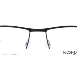 MOREL-Eyeglasses-40031 black-men-eyeglasses-metal-rectangle