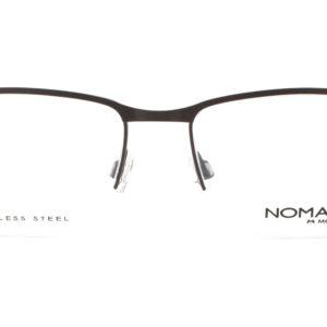 MOREL-Eyeglasses-40032 brown-men-eyeglasses-metal-rectangle