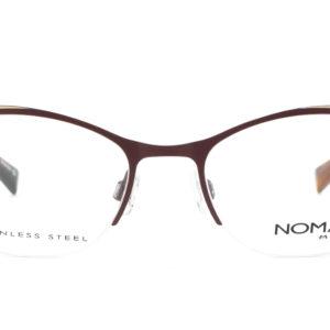MOREL-Eyeglasses-40033 purple-women-eyeglasses-metal-oval
