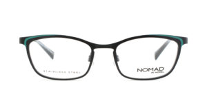 MOREL-Eyeglasses-40035 black-women-eyeglasses-metal-rectangle