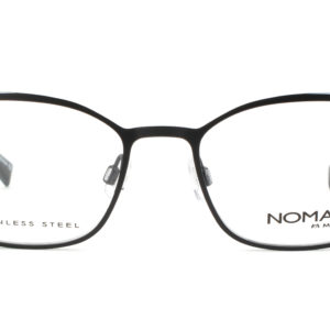 MOREL-Eyeglasses-40036 black-women-eyeglasses-metal-rectangle
