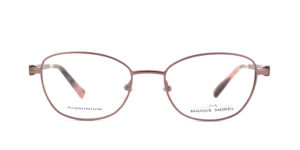 MOREL-Eyeglasses-50021 brown-women-eyeglasses-metal-rectangle