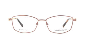 MOREL-Eyeglasses-50022 brown-women-eyeglasses-metal-rectangle