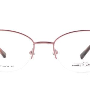 MOREL-Eyeglasses-50024 pink-women-eyeglasses-metal-rectangle