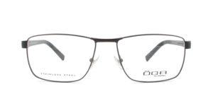 MOREL-Optique-10010 marron-Optique Homme-metal-rectangle