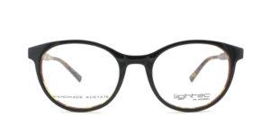 MOREL-Optique-30005 noir-Optique Femme-plastic-ovale
