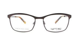 MOREL-Optique-30019 marron-Optique Femme-metal-rectangle