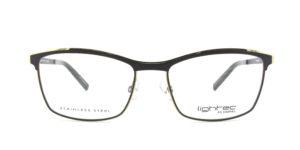 MOREL-Optique-30022 gris-Optique Femme-metal-rectangle