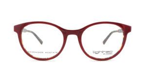 MOREL-Optique-30005 rouge-Optique Femme-plastic-ovale
