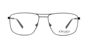 MOREL-Optique-10047 noir-Optique Homme-metal-rectangle