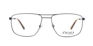MOREL-Optique-10047 bleu-Optique Homme-metal-rectangle