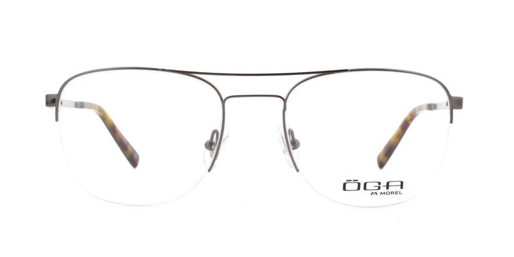 MOREL-Optique-10048 gris-Optique Homme-metal-pilote
