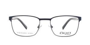 MOREL-Optique-10035 bleu-Optique Homme-metal-rectangle