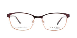 MOREL-Optique-30047 violet-Optique Femme-metal-rectangle