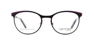 MOREL-Optique--Optique Femme-Métal-ovale