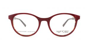 MOREL-Eyeglasses-30005 red-women-eyeglasses-plastic-oval