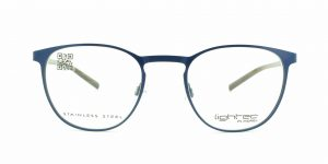 MOREL-Eyeglasses-8239L blue-men-eyeglasses-metal-pantos