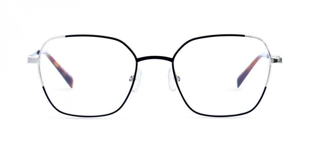 MOREL-Eyeglasses--women-eyeglasses-Metal-hexagonale