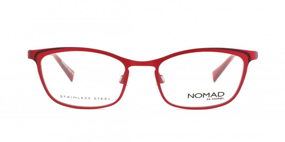 nouvelle sélection Conception innovante bonne texture MOREL-Optique--Optique Femme-Métal-rectangle